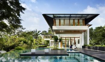 纯洁如水莲 盈盈绿木间—新加坡水莲住宅