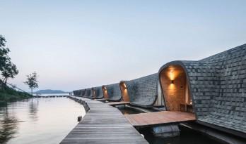 Z9 度假村,滨河建造可持续性酒店——泰国度假天堂