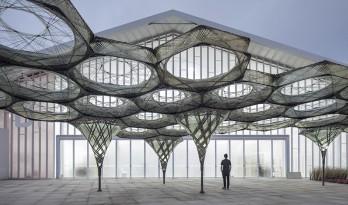 如何在100天里呈现一个城市公共展览空间?——上海西岸峰会B馆