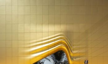"""MVRDV新作 / 如剧院幕布般被掀起的入口——韩国百乐达斯城""""拓印"""""""