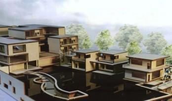 山地旅馆设计(上)   西安建筑科技大学