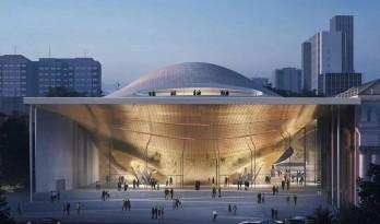 Zaha Hadid中标俄罗斯爱乐音乐厅