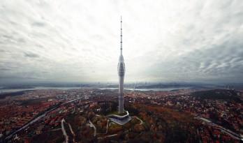 伊斯坦布尔369米超高广播电视塔已成型!