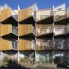 """造型独特的 """"尖角式""""阳台 —伦敦 帕克斯顿公寓"""