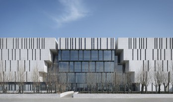天津滨海新区文化中心滨海美术馆 / gmp Architects