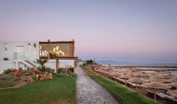情定爱琴海,柳条花架构筑的水疗中心