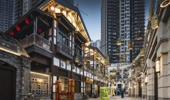 重庆长嘉汇二期,重新规划设计'弹子石老街'