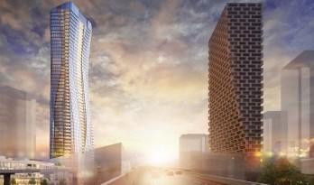 """温哥华""""城市之门""""将建于 BIG 温哥华一号公馆对面"""