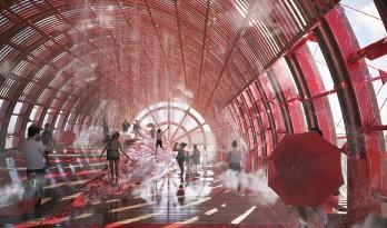 2020迪拜世博会奥地利馆方案公布!Penda、Smartvoll 联合设计红色巨型风车