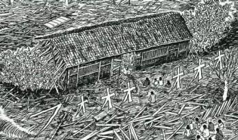 恐怖漫画家伊藤润二的建筑世界