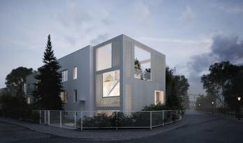 """用""""减法""""做出虚实结合的白房子/MFRMGR建筑师事务所"""
