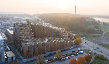 BIG新作!像素堆叠的住宅山坡——79&PARK斯德哥尔摩综合住宅项目