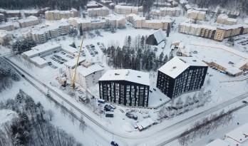 节能公寓,芬兰Puukuokka木质公寓楼