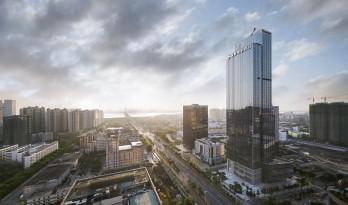 眺望湛江,粤西第一高楼——财富汇大厦