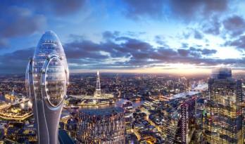 """福斯特事务所公布伦敦新地标""""郁金香""""方案,俯瞰""""小黄瓜"""""""