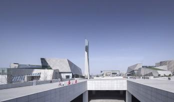长沙滨江文化园(长沙三馆一厅)/ 华南理工大学建筑设计研究院陶郅工作室