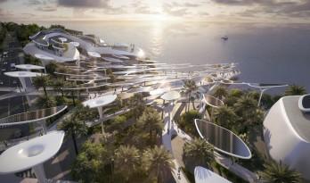 """CAA公布马尔代夫""""生命之城""""项目,构建空中的海洋天堂"""