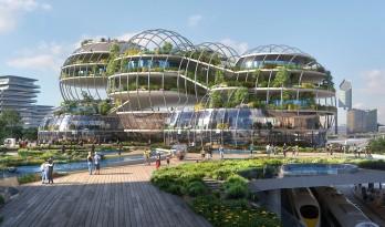 """UNStudio公布荷兰海牙""""中央创新区""""规划,应对未来城市发展和可持续性"""