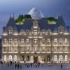 """卢森堡市波斯特酒店方案公布,百年建筑的""""未来变形记"""""""