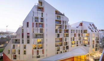 棱角分明,有机生态的微城市中心——巴黎公园综合体/Jean Bocabeille建筑师事务所