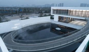 空境几何丨南昌华侨城纯水岸艺术展廊