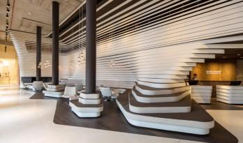流动的空间视觉:贝尔格莱德老磨坊酒店/ GRAFT Architects
