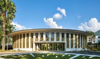 带有热带建筑记忆的法国驻海地大使馆 / Explorations Architecture