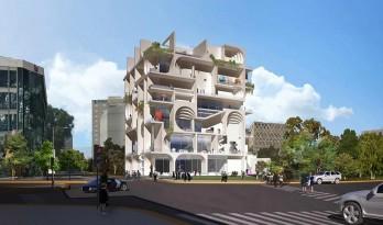 自成一座巨大的城市雕塑:贝鲁特艺术博物馆