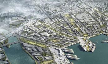 数字城市主义,扎哈·哈迪德事务所塑造活力西港花园
