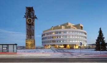 小镇水晶市政厅 / Henning Larsen