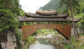 今天不可能再有匠人用这种方式来建造如此惊险的大桥了