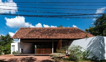 浓浓书卷气,缱绻田园风:越南YT住宅