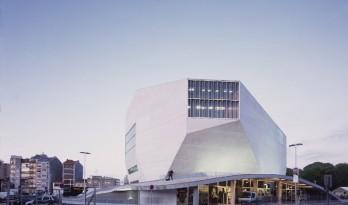 重温OMA作品——白色经典的混凝土空腔音乐厅:波尔图文化剧院