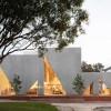 三角的锐意与方形边界搭构而成的高级时尚感:哥伦比亚Masa餐厅