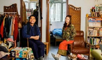 香港年轻人一辈子买不起房,把破出租屋改成复古小窝