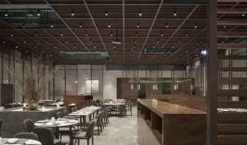 上海陆家嘴荣庐餐厅 / 间筑设计