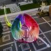 献给平凡之爱的礼物:外滩码头爱心互动装置 / 上海华都建筑规划设计