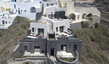 火山峭壁上的沃拉别墅