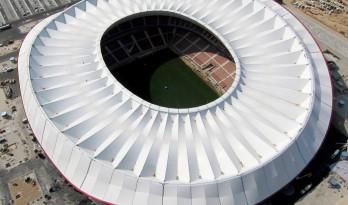 """马德里""""万达大都会""""足球体育场"""