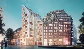 阿姆斯特丹具有未来主义色彩的住宅区