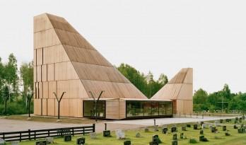 历久弥新,随时间沉淀变幻外表的挪威松木教堂