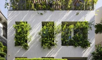 像植物一样光合作用——盛满阳光与绿意的越南公园住宅