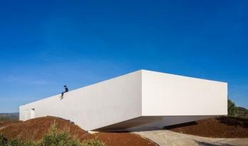 经典白的高端玩法:雕塑艺术般写意的葡萄牙住宅