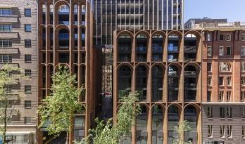 弧形高层公寓 / 高田浩一建筑事务所