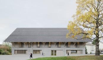 拥有历史感的谷仓秒变简洁雅致的图书馆——德国改造Steimle Architekten 项目