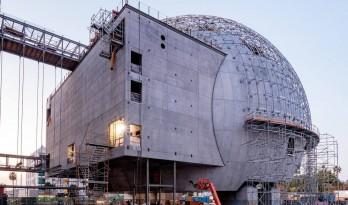 伦佐·皮亚诺洛杉矶电影学院博物馆接近完工