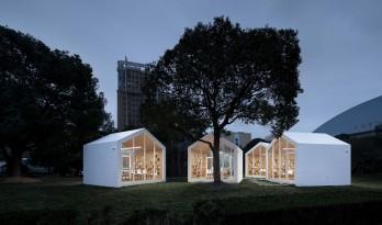 80㎡ 校园草地图书馆 / Yuan Architects