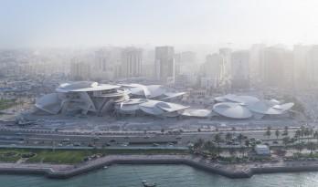 让·努维尔打造'沙漠玫瑰',卡塔尔国家博物馆于3月28日开放!