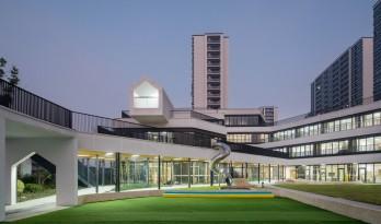 漂浮的乐园——杭州市海潮幼儿园 / GLA建筑设计