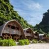 遥望阳光,沙滩与船长,越南兰哈湾竹度假酒店 / 武重义建筑事务所